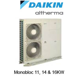 Daikin Altherma Low Tempatature Heat Pumps