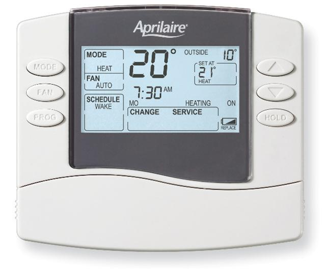 CD-8400 - 5 + 2 Programmable thermostat HP or HC