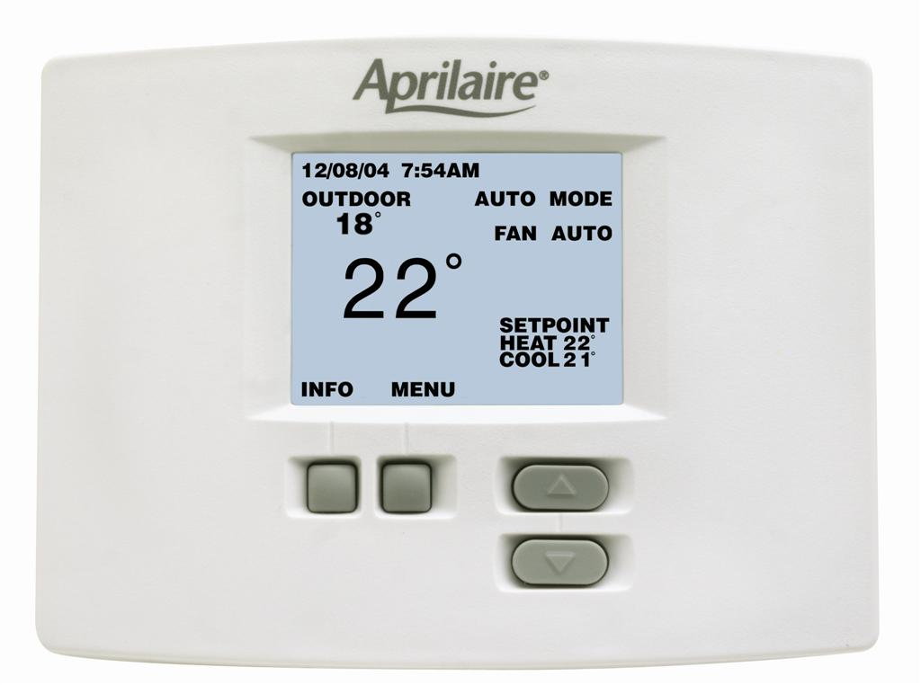 CD-8570 - 7 Day Programmable Thermostat, HP or HC